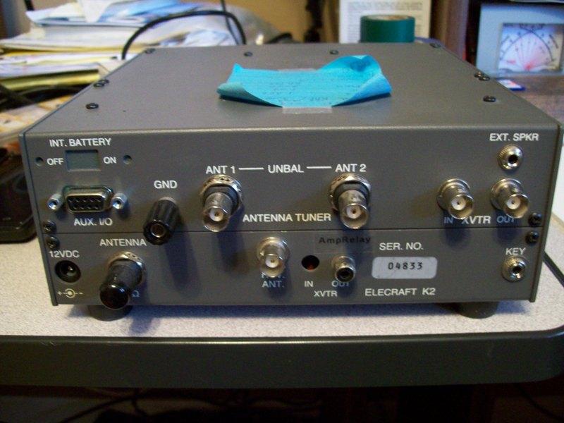 eHam net Classifieds Elecraft K2 w/6 meter transverter