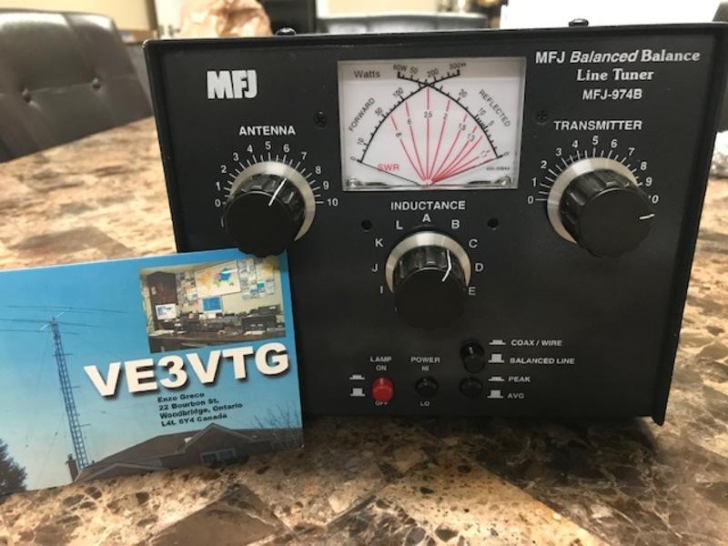 eHam net Classifieds MFJ-974B Antenna Tuner
