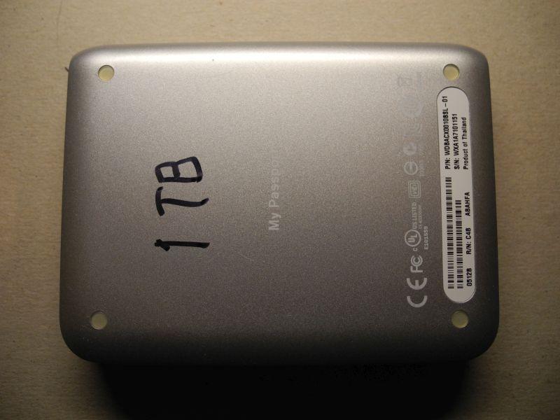 eHam net Classifieds Portable hard drives 1 TB Western