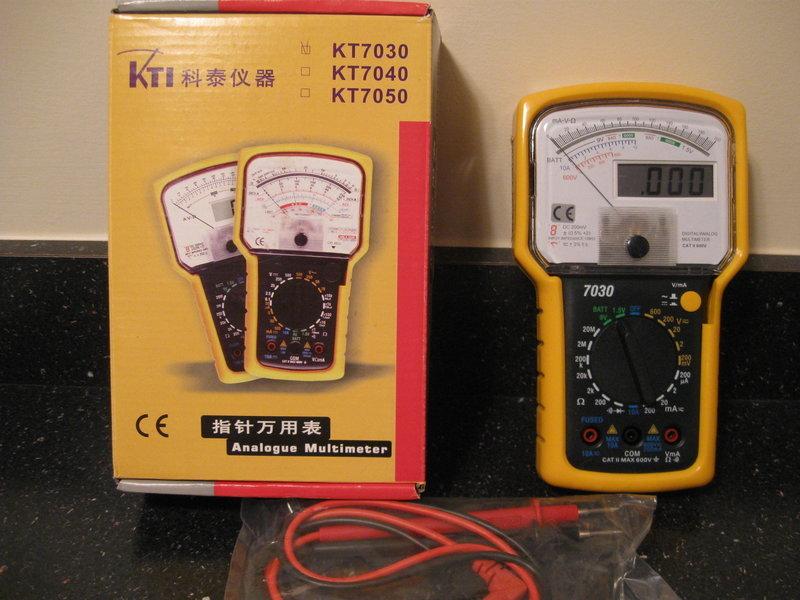 eHam net Classifieds KTI analog/digital test meter