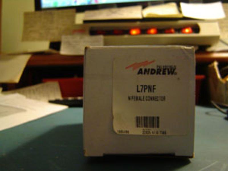eHam net Classifieds Andrew L7PNF 1 5/8