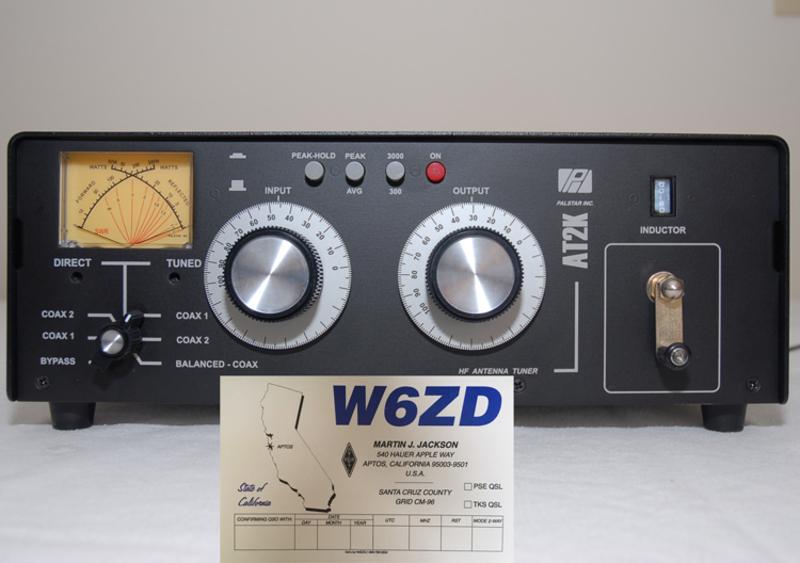eHam net Classifieds PALSTAR AT2K - 2000 Watt Antenna Tuner