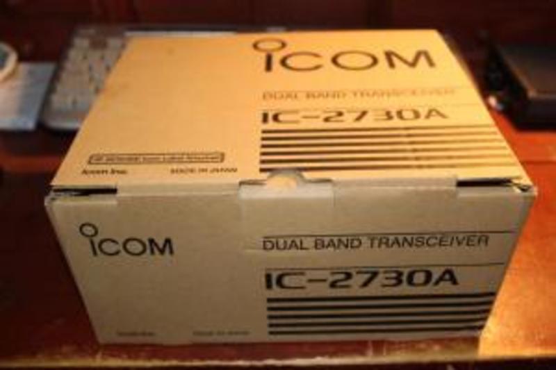 eHam net Classifieds ICOM IC-2730 DUAL AS NEW IN BOX