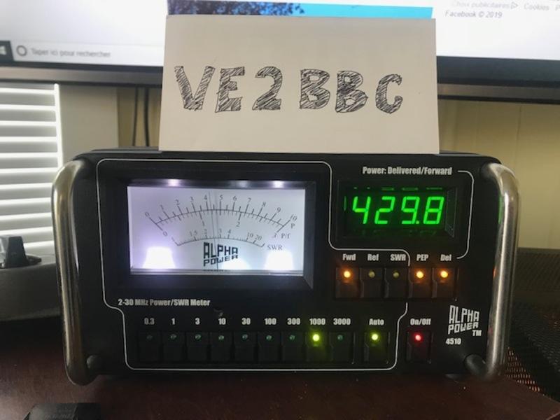 eHam net Classifieds Alpha 4510 power / swr meter