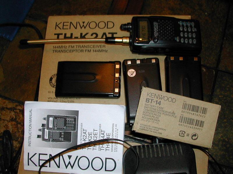 eHam net Classifieds Kenwood HT TH-K2 & KSC-24 Charger