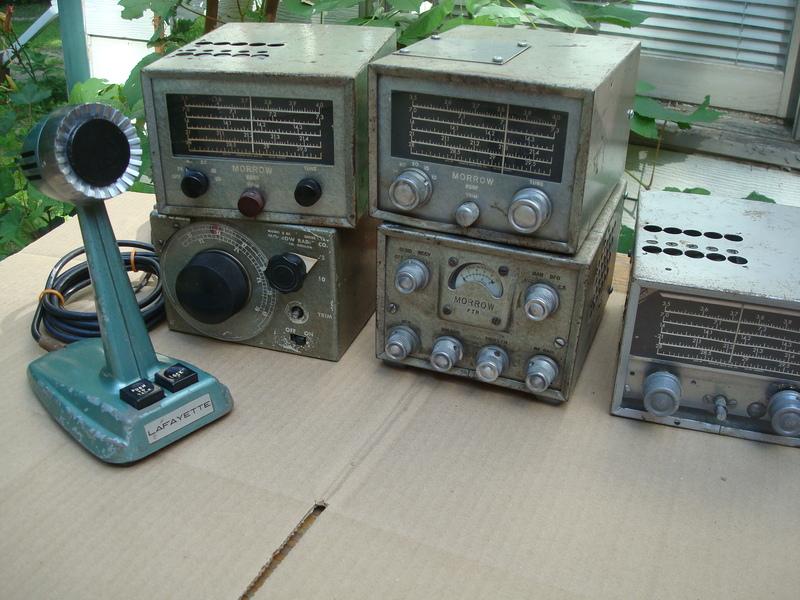 eHam net Classifieds 6 Piece Morrow tube ham radios