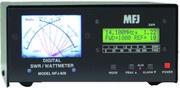MFJ-828 Digital/analog SWR/wattmeter, freq  counter Product